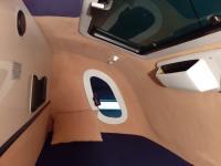 Interiér spací kabiny ERLAN
